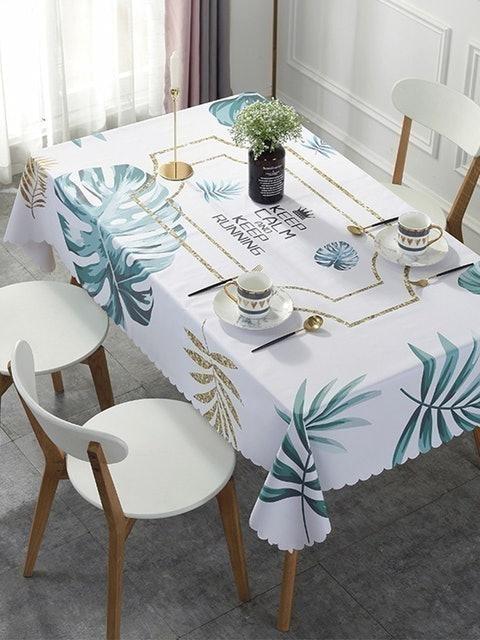 BUNNY LIFE 邦妮生活館 北歐風PVC防水防油桌巾 1