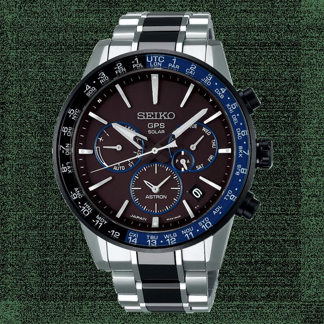 SEIKO 5X53 雙時區 鈦金屬錶款 1