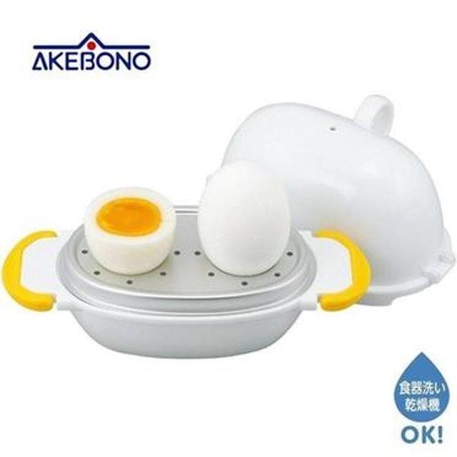 AKEBONO 曙產業 神奇微波水煮蛋器 1
