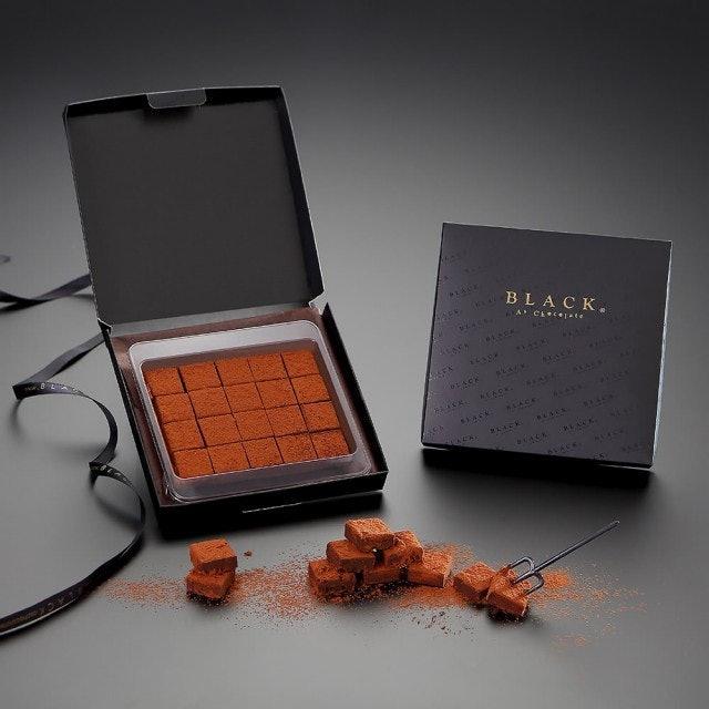 Black As Chocolate 生巧克力禮盒 1