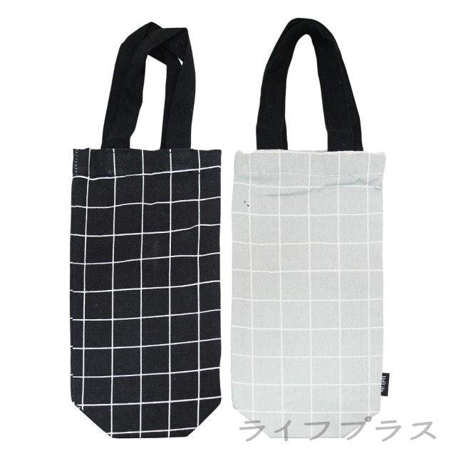 UdiLife 平帆系/格紋杯袋-大 1