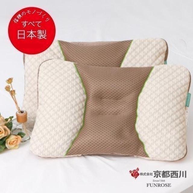 京都西川 日本綠茶抗菌調節枕 1