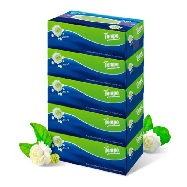 TEMPO 3層加厚盒裝面紙 茉莉花 1