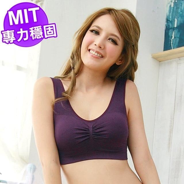 尚芭蒂  台灣製專利雙層零壓力無感睡眠居家運動內衣 1