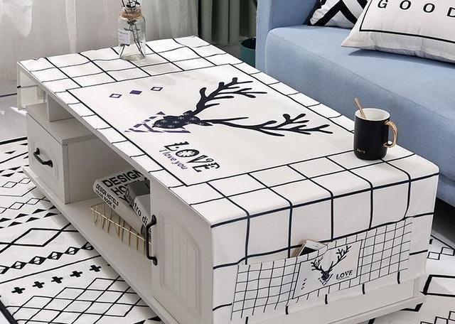 北歐風防塵桌巾 1