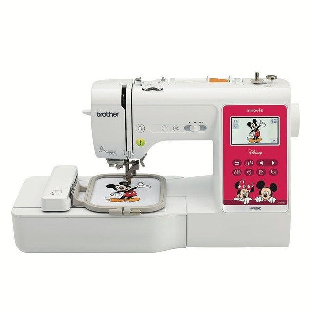 brother兄弟牌 迪士尼電腦刺繡縫紉機 1
