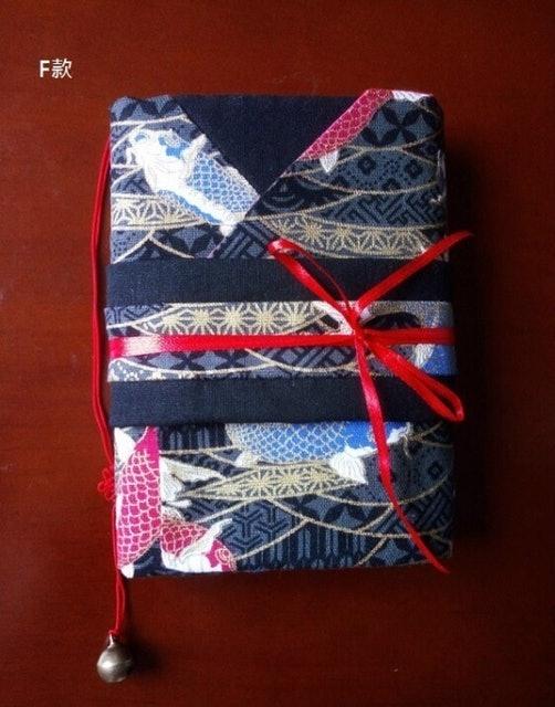 手工製作 日式和風手帳本書衣 1
