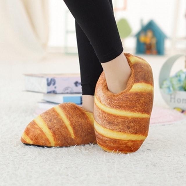 仿真麵包室內拖鞋 1