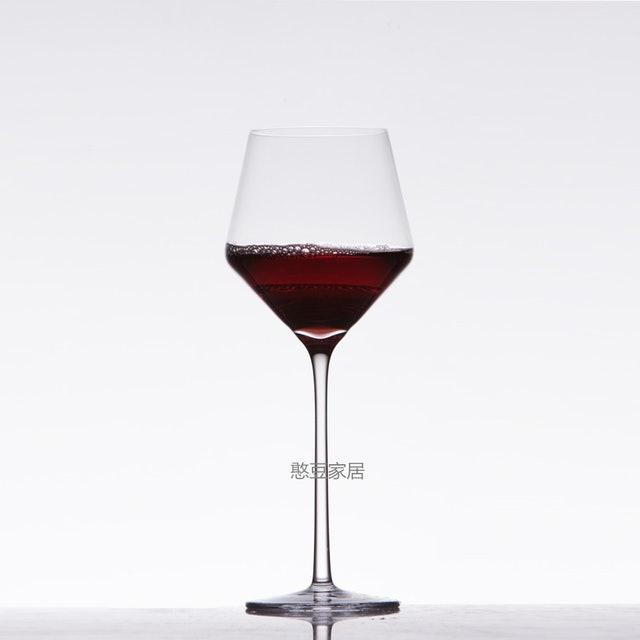 叁克拉 水晶薄口超薄菱形紅酒杯 1