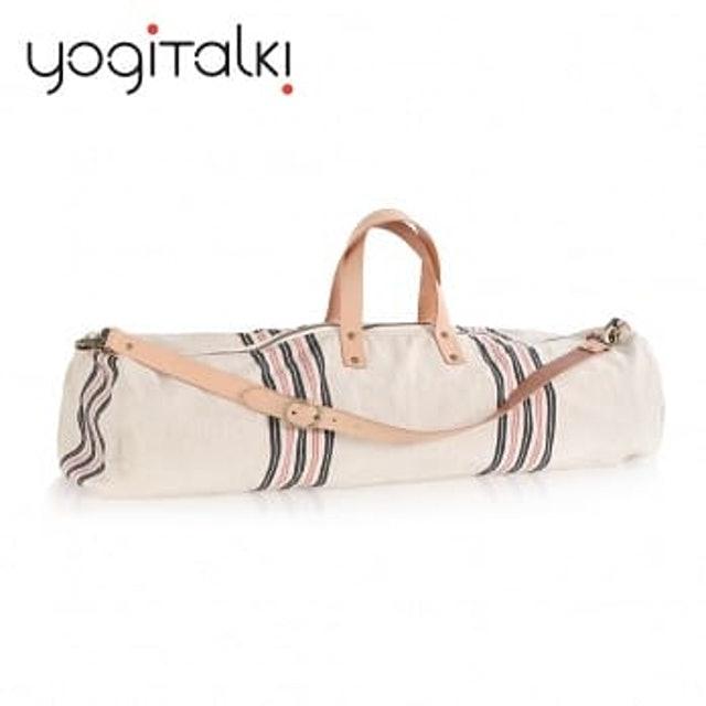 yogiTalki  天然棉質瑜伽墊收納桶袋 1
