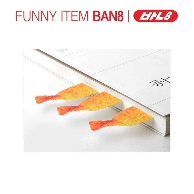 Ban8 炸蝦 便條紙 1