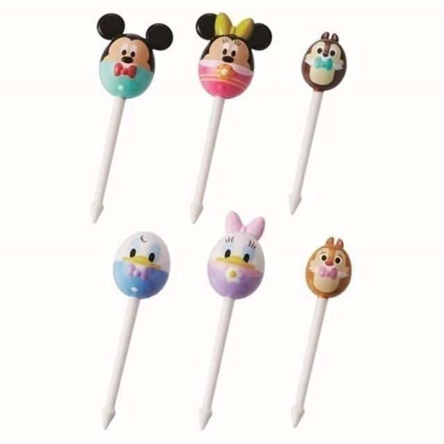 小禮堂 迪士尼食物裝飾叉組 1