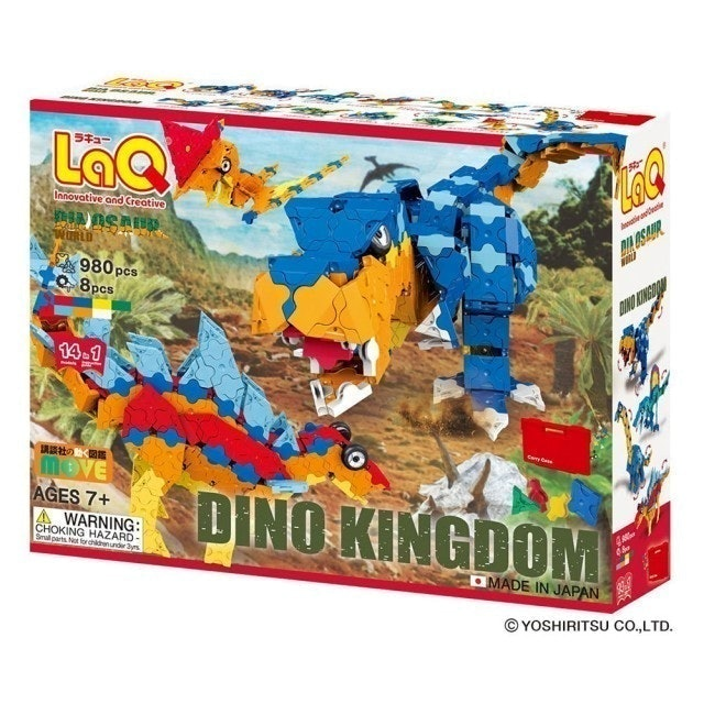 LaQ立體拼圖  恐龍王國 1