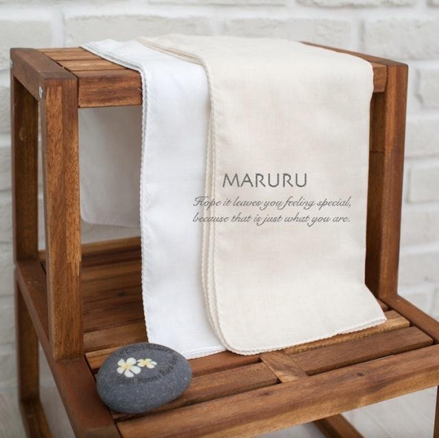 MARURU  無染色紗布浴巾 1