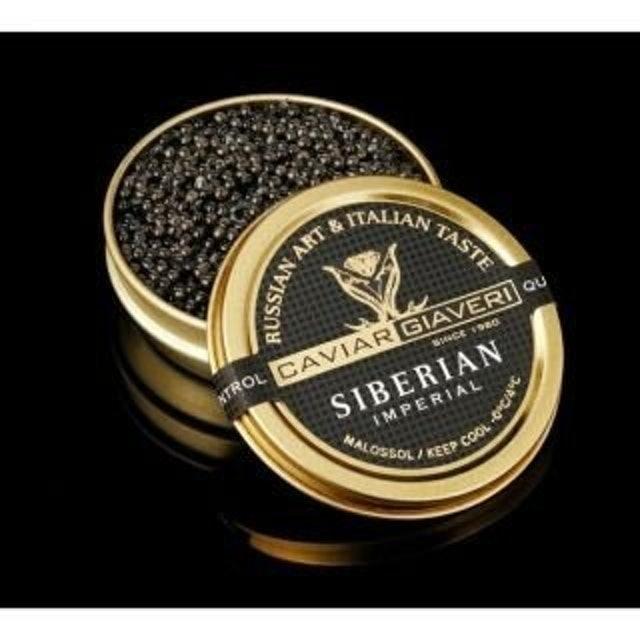 Caviar Giaveri 西伯利亞魚子醬(黑蓋) 1