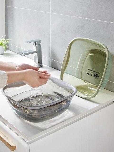 方形透明洗臉盆 1