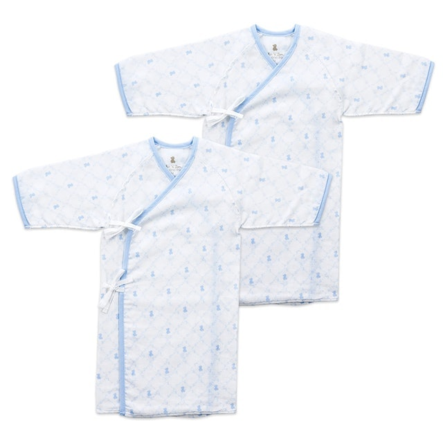 """Chic""""a""""Bon 掌心系列長版肚衣式睡袍2入組 1"""