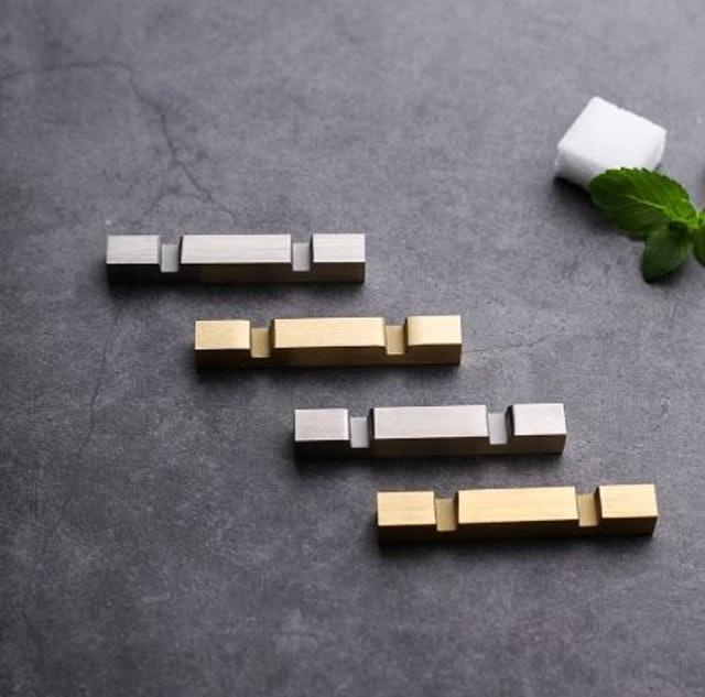 北歐風不鏽鋼金屬筷架 1