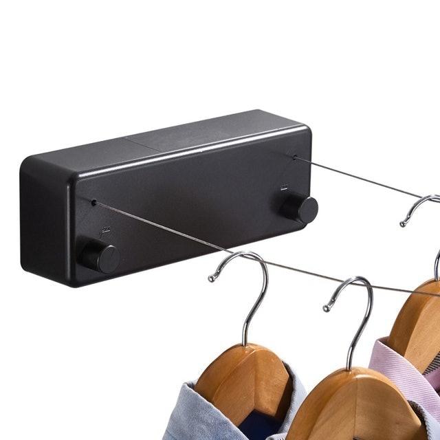 雙繩隱形伸縮曬衣繩 1
