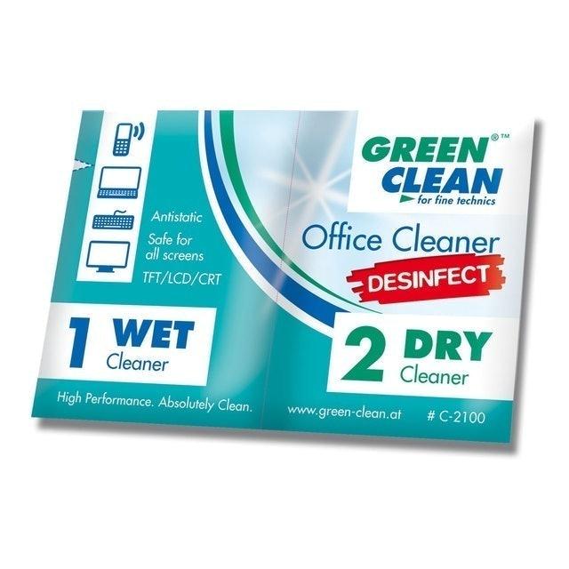GREEN CLEAN 辦公室清潔乾濕巾 1