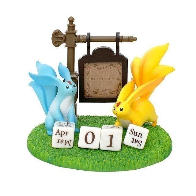 TAITO 最終幻想 XIV 紅寶石獸萬年桌上型月曆 1