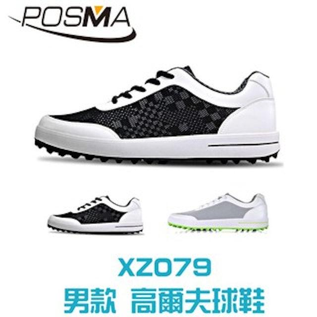 POSMA 男款 輕量透氣高爾夫球鞋 1