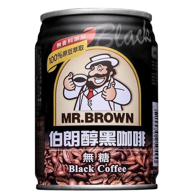伯朗咖啡 醇黑咖啡 1