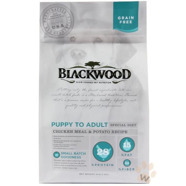 BLACKWOOD 柏萊富  無穀全齡 低敏純淨配方(雞肉+豌豆) 1