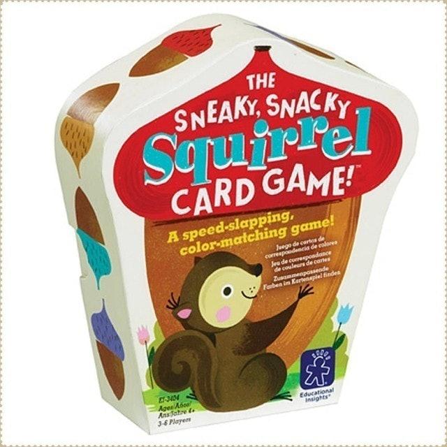Educational Insights  兒童益智桌遊 小松鼠遊戲卡 1