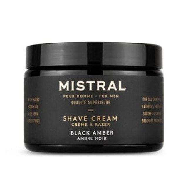 Mistral   超級刮鬍膏 黑琥珀 1