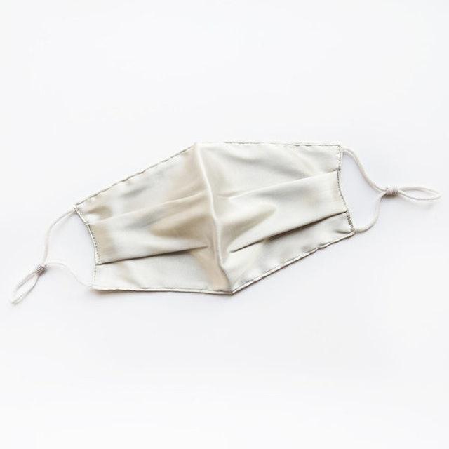 緞面真絲口罩 1