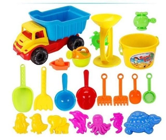 21件沙灘玩具組 1