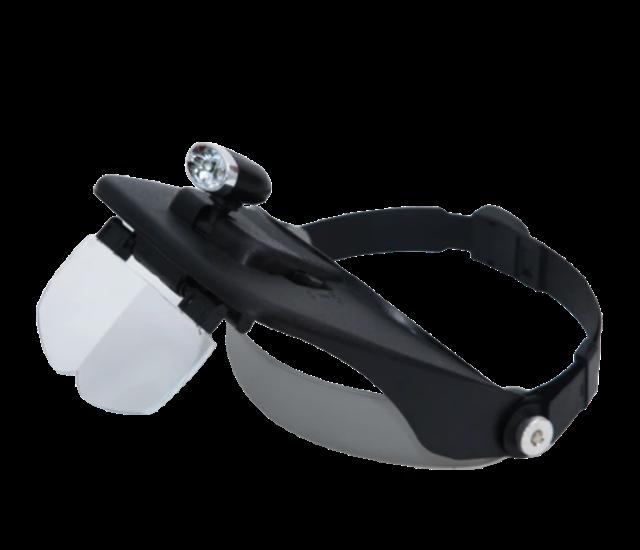 SOLAR LIFE 索樂生活 頭戴式LED頭燈放大鏡 1