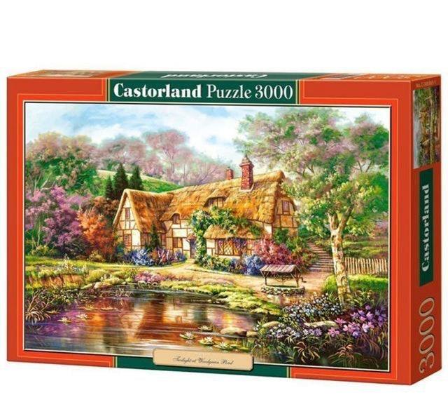 Castorland 木屋黃昏拼圖 1