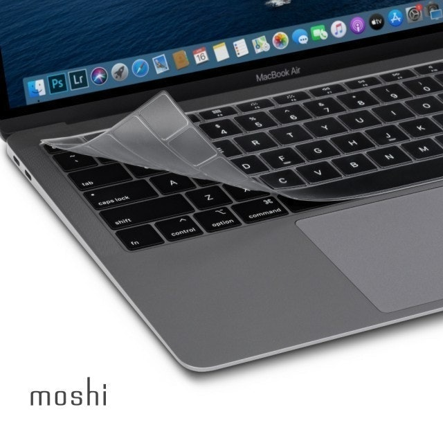 moshi ClearGuard for MacBook Air 13吋 超薄鍵盤膜 1