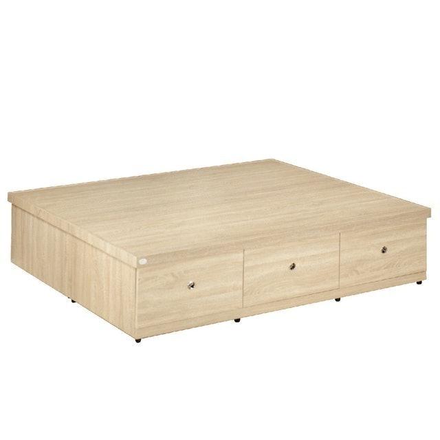 品家居 拉米6尺六抽收納床底 1
