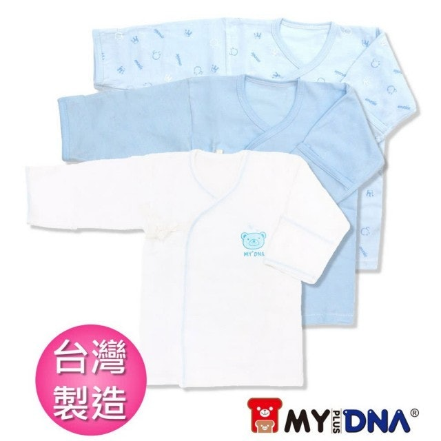 MY+DNA熊本部 嬰兒純棉護手肚衣春夏款三件組 1
