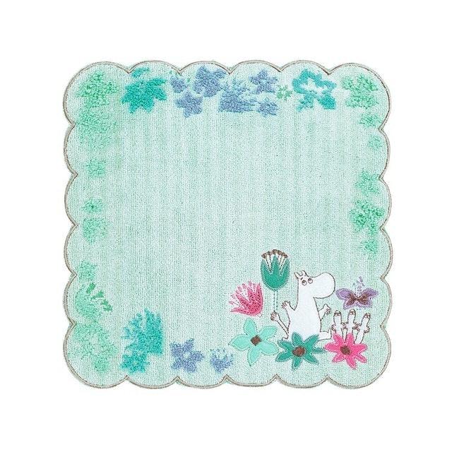 Marushin丸真 Moomin刺繡小方巾 1