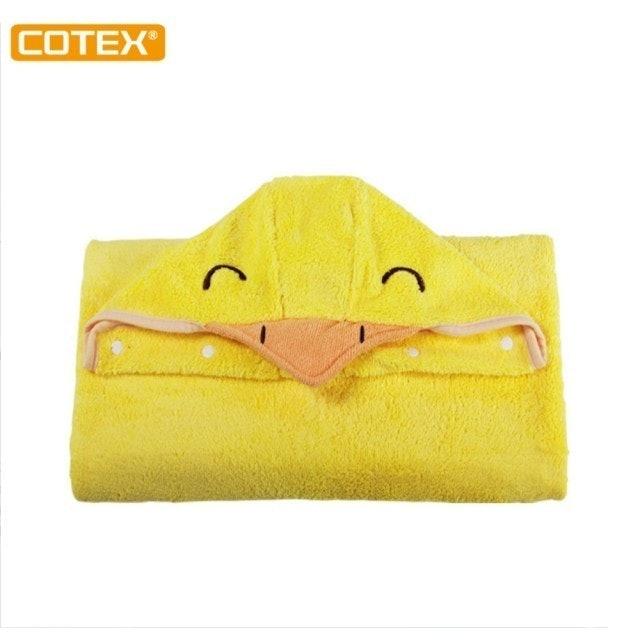 COTEX可透舒  開心可達鴨浴巾 1