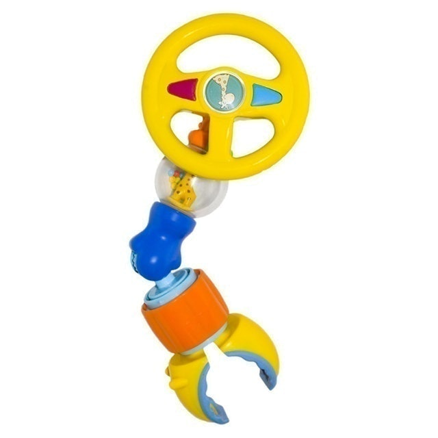 Lucky Baby 搖鈴玩具-方向盤 1