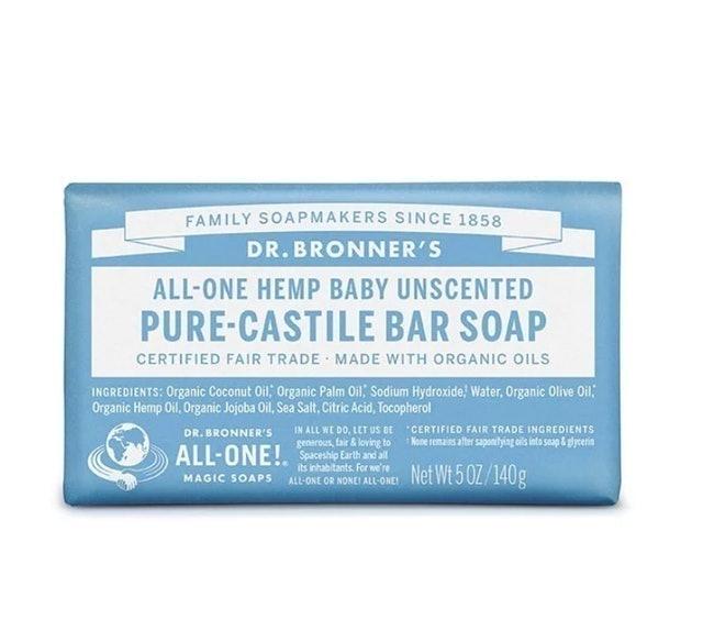 布朗博士 溫和嬰兒呵護潔膚皂 ALL in ONE 全效潔膚皂 1