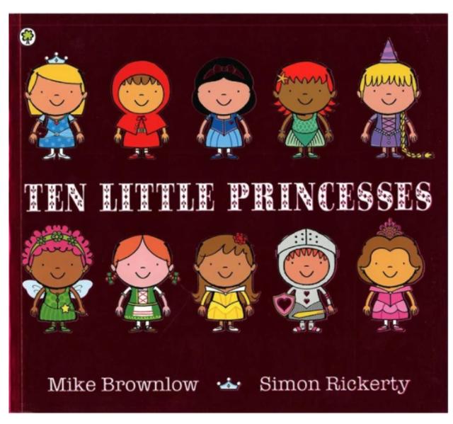 Ten Little Princesses 1