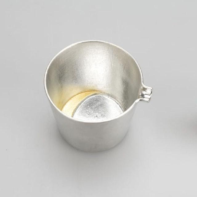 能作 錫製月見清酒公杯 1
