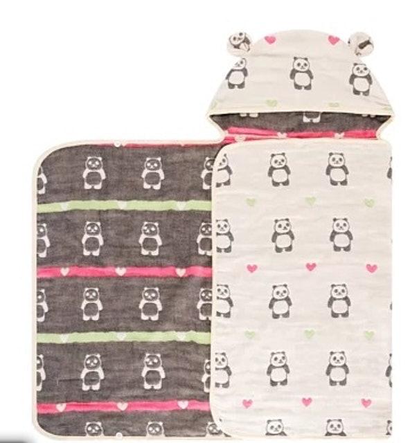 BeBe-Style  六重紗連帽浴袍 1