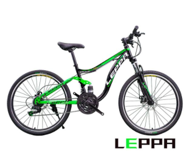 LEPPA 26吋21速雙避震碟煞登山車 1