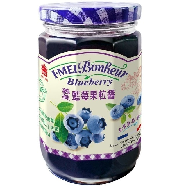 義美 藍莓果粒醬 1