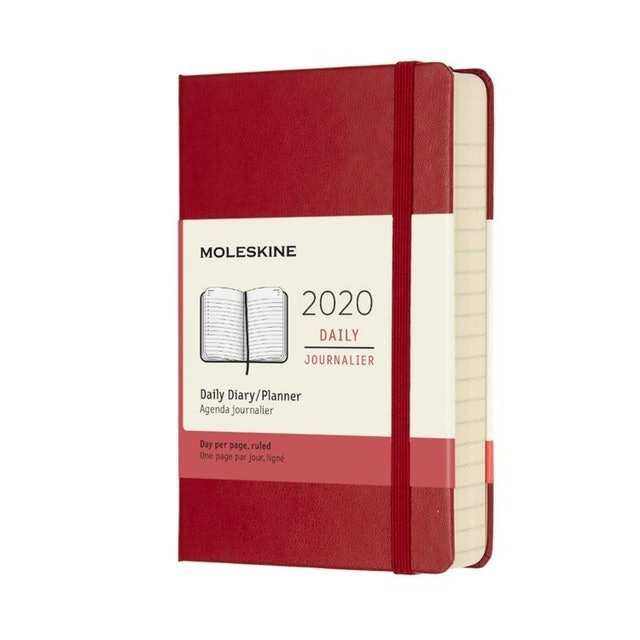 Moleskine 2020 12-Month Daily Planner 1