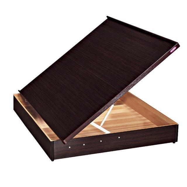愛比家具 收納3尺單人安全裝置側掀床 1