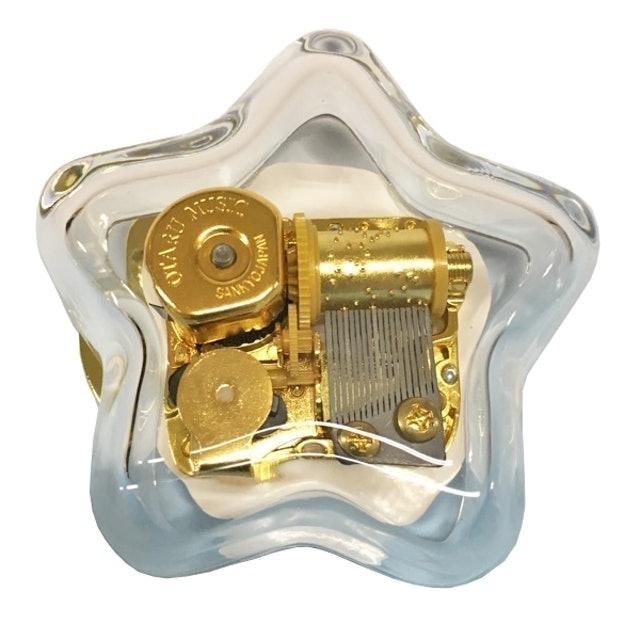 小樽音樂盒堂 星型玻璃音樂盒 1
