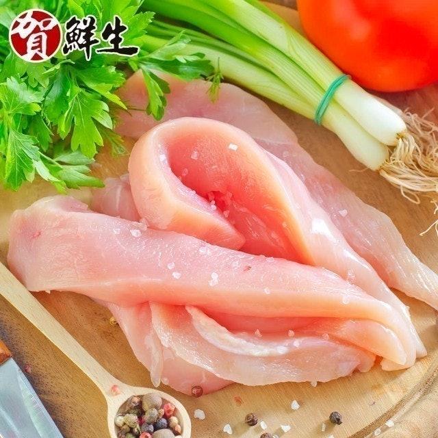 賀鮮生 鮮嫩去骨切條雞胸肉 1